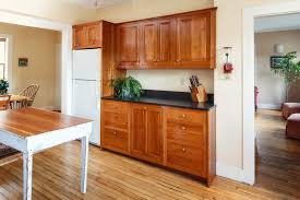 shaker style kitchen cabinets in cherry henna finish shaker style