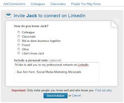 Linkedin Message Template make your linkedin invitations more inviting faceitsocialmedia