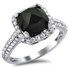 black and white engagement rings unique black engagement rings black rings types