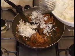 cuisine indienne riz cuisine indienne riz et agneau sautés