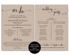 Wedding Program Templates Free Online Printable Wedding Welcome Letter Instant Download Destination