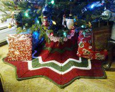 free crochet patterns white tree skirt