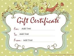 make your own gift card gift certificate template 42 exles in pdf word in design