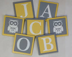 baby plaques personalized owl nursery decor etsy