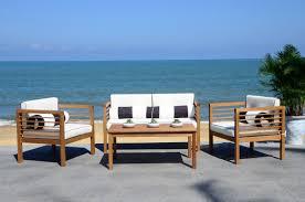 Outdoor Furniture Daytona Beach Florida Beachcrest Home Daytona 4 Piece Sofa Set With Cushions U0026 Reviews