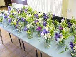 wedding flowers jam jars wedding wednesday flower school how to achieve that just picked