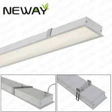 commercial suspended architectural led linear suspension lighting