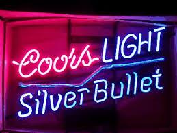coors light bar sign coors light lightning flashing neon beer bar sign