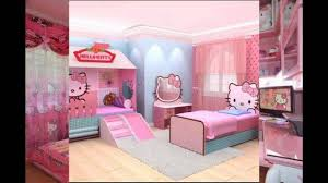 Bedroom Decorating Ideas And Pictures Hello Kitty Bedroom Interior Design And Decor Ideas Youtube