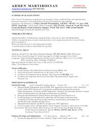 Best Resume Format 1 Year Experience by Resume Format For 1 Year Experience Dot Net Developer Resume For