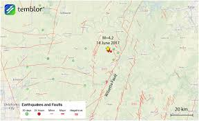 Pawnee Oklahoma Map M U003d4 2 Earthquake In Oklahoma Widely Felt Throughout Midwest