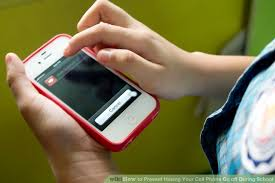 how to prevent your cell phone go during school