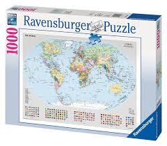 Political Map Of Europe by Ravensburger Political Map Of Europe 500pc Jigsaw Puzzle Amazon