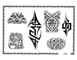 celtic with tribal from itattooz