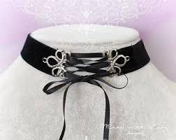 velvet collar necklace images Black velvet collar etsy jpg
