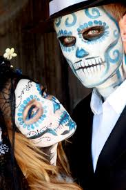 day of the dead u0026 zombie face paint estilo pinterest