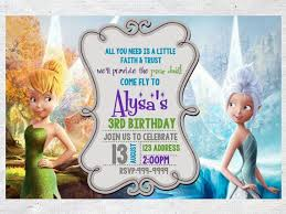 best 25 tinkerbell invitations ideas on pinterest fairy