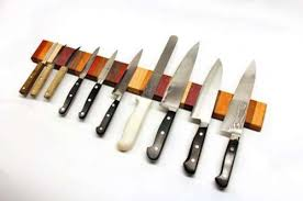 magnetic strips for kitchen knives how to make a rainbow knife magnet holder shelterness