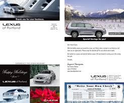 lexus service coupons direct mail pieces by alison warner at coroflot com