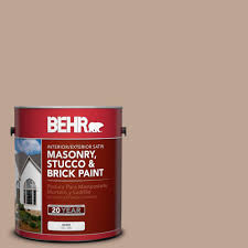 behr 1 gal n320 5 gray squirrel satin interior exterior masonry