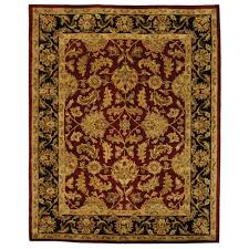 Great Area Rugs Safavieh Heritage Black 7 Ft 6 In X 9 Ft 6 In Area Rug