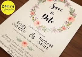 Best Save The Dates Save The Date Template Save The Date Printable Printable Save