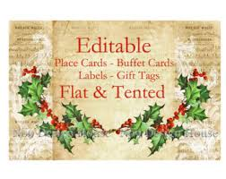 digital place cards etsy