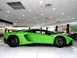 used lamborghini aventador out of this world verde mantis lamborghini aventador sv could be yours