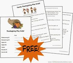 free thanksgiving play script