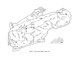 kentucky map harlan estimate of known recoverable reserves of coking coal in harlan