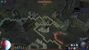 Poe Maps Forum Bug Reports Cannot Reach Merveil In Graveyard Map Path