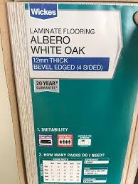 Tesco Laminate Flooring Wicks Albero White Oak Laminate Flooring In Longsight