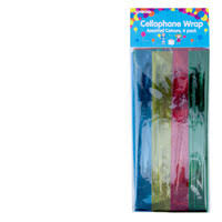 where can i buy cellophane wrap buy party cellophane wrap assorted colours 4pk online at countdown