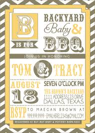 bbq baby shower invitations u2013 gangcraft net