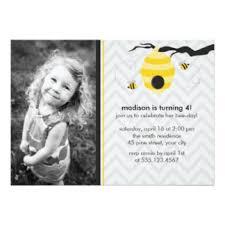 bumble bee invitations u0026 announcements zazzle