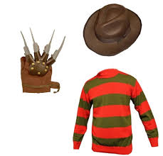 Halloween Freddy Krueger Costume Unisex Kids Boys U0027s Freddy Horror Halloween Fancy Dress