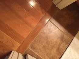 Tile To Laminate Floor Transition Laminate Wood To Tile Transition Simplest Wood To Tile