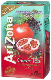 amazon tea amazon com arizona green tea with pomegranate and acai 20 count