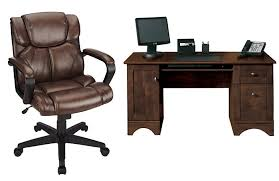 Realspace Dawson Computer Desk Office Depot Officemax Vinyl Chair Only 44 99 Reg 129 99