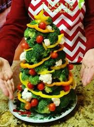 delightful food creations vegge turkey veggie tree birds