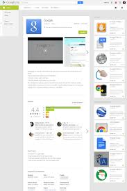 get layout from view the google play store s app page layout on the web has changed for