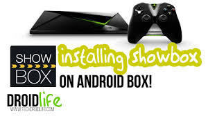 install showbox on your android tv or set up tv tech