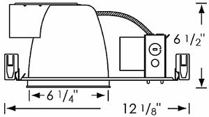Ic Light Fixtures Compact Fluorescent 6 Inch Recessed Light Fixtures