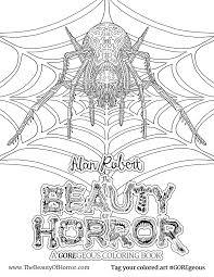 alan robert u0026 u0027the beauty of horror ii u0027 coloring book interview