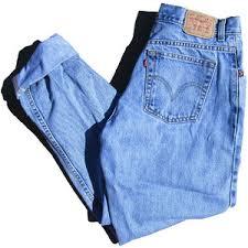 Levis 582 Comfort Fit Jeans 90s Light Wash High Waisted Levi U0027s 550 Jeans Minimalist Deni