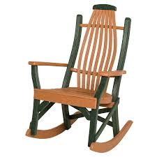 Bent Wood Rocking Chair Amish Patio Poly 5 Piece Bentwood Rocker Conversation Set