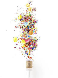 new years party poppers new years confetti poppers 25 unique party poppers ideas on