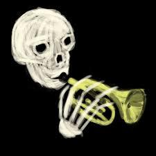 Doot Doot Meme - skull trumpet know your meme