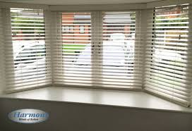 Best Blinds For Bay Windows White Wooden Blinds In A Bay Window Harmony Blinds Of Bolton And