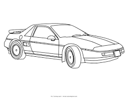 sport cars coloring pages coloring page